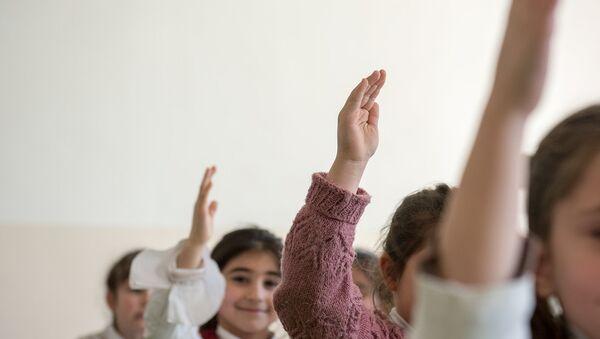 Дети. Школа - Sputnik Армения