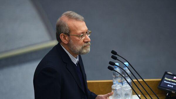 Председатель Собрания исламского совета Исламской Республики Иран Али Лариджани - Sputnik Армения