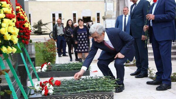 Третий Президент Республики Армения Серж Саргсян - Sputnik Արմենիա