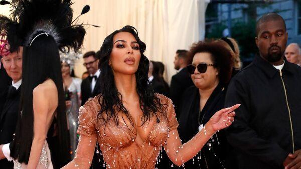 Кайне Уэст и Ким Кардашьян Уэст на Met-Gala (6 мая 2019). Нью-Йорк - Sputnik Армения