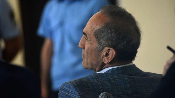 Роберт Кочарян на заседании суда по делу 1 марта (13 мая 2019). Еревaн - Sputnik Армения