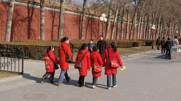 Студенты в Китае - Sputnik Армения