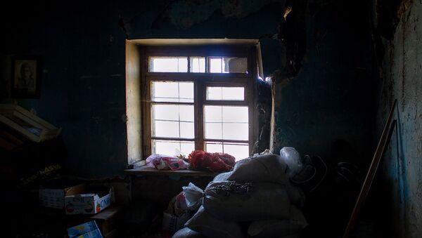 Комната в обрушенном доме в селе Хнаберд, Арагацотн - Sputnik Армения