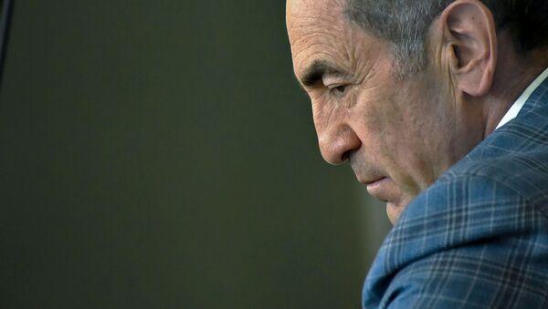 Роберт Кочарян на заседании суда по делу 1 марта (16 мая 2019). Еревaн - Sputnik Արմենիա