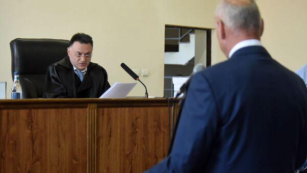 Речь экс-президента Карабаха Аркадия Гукасяна во время заседания суда по делу 1 марта (16 мая 2019). Еревaн - Sputnik Արմենիա
