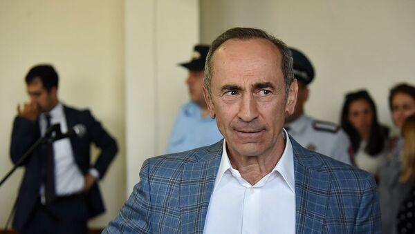Роберт Кочарян на заседании суда по делу 1 марта (16 мая 2019). Еревaн - Sputnik Армения