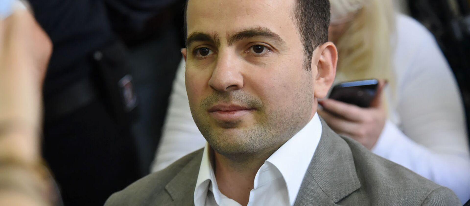 Седрак Кочарян в зале суда перед началом заседания по делу 1 марта (18 мая 2019). Еревaн - Sputnik Արմենիա, 1920, 17.08.2021