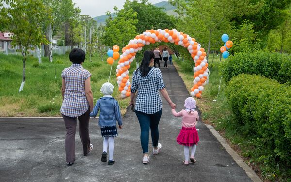 Открытие нового детского сада благотворительного фонда SOS - Детские деревни (21 мая 2019). Котайк - Sputnik Армения