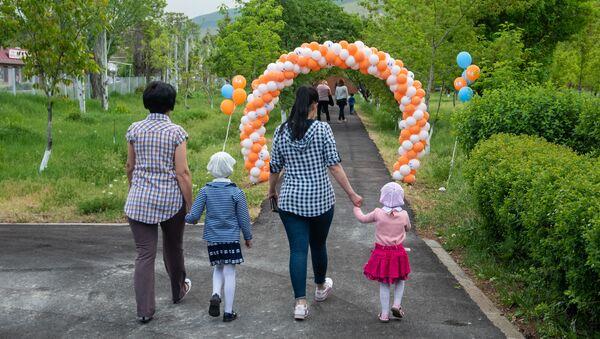 Открытие нового детского сада благотворительного фонда SOS - Детские деревни (21 мая 2019). Котайк - Sputnik Արմենիա