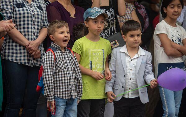 Дети на открытии нового детского сада благотворительного фонда SOS - Детские деревни (21 мая 2019). Котайк - Sputnik Армения