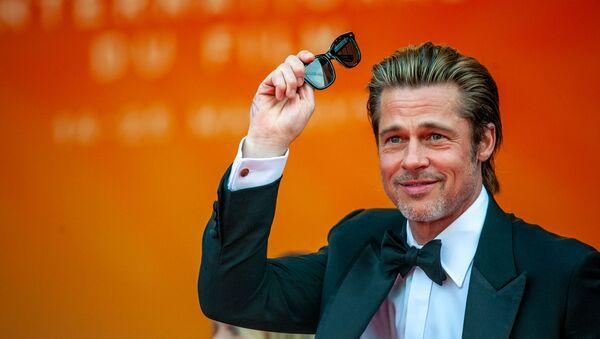 Актер Брэд Питт на красной дорожке фильма Однажды... в Голливуде (Once Upon a Time in Hollywood) в рамках 72-го Каннского кинофестиваля (21 мая 2019). Канны - Sputnik Армения