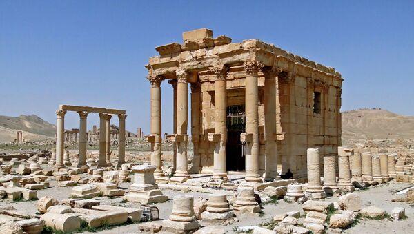 Храм Баалшамина в Пальмире, Сирия - Sputnik Արմենիա