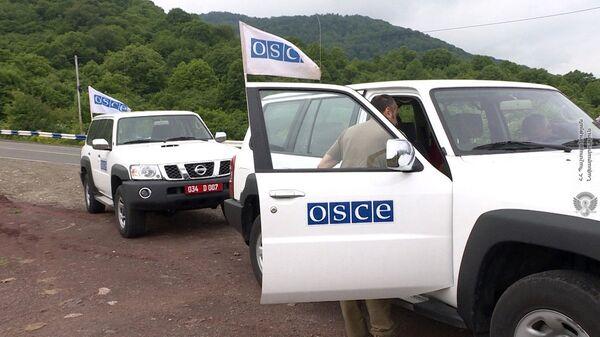 Мониторинг ОБСЕ на армяно-азербайджанской границе - Sputnik Армения