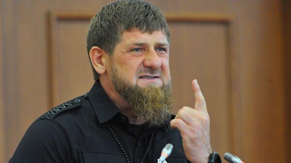Глава Чеченской Республики Рамзан Кадыров - Sputnik Արմենիա