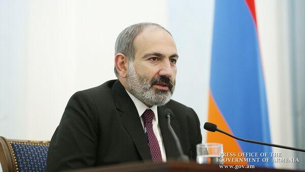 Премьер-министр Армении Никол Пашинян встретился с аккредитованными в Армении послами и представителями зарубежных стран - Sputnik Արմենիա