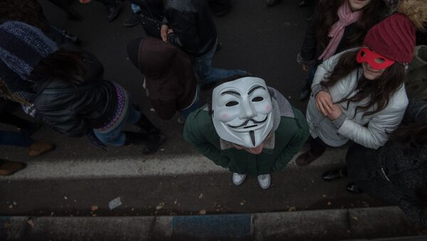 Маска. Анонимус - Sputnik Արմենիա