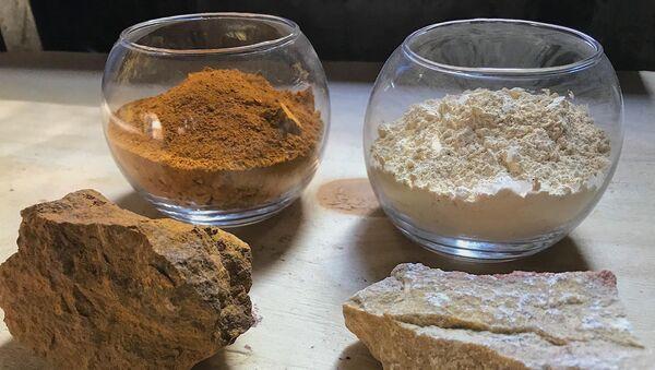 Краски на основе горных минералов из Армении - Sputnik Армения