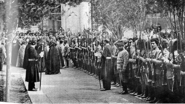 Армянские добровольцы майских сражений начала XX века - Sputnik Արմենիա