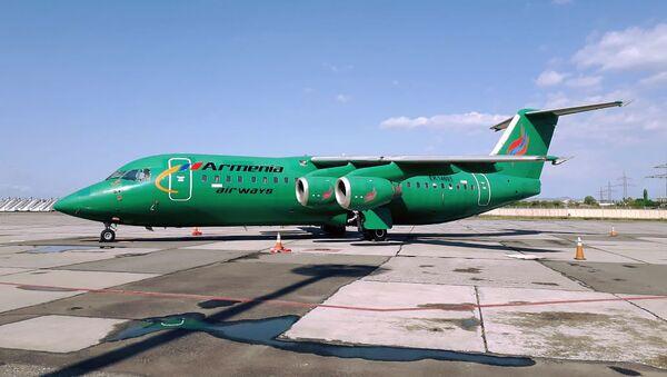 Самолет авиакомпании Armenia в аэропорту Звартноц - Sputnik Արմենիա