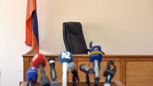Судебное заседание по делу Манвела Григоряна отложено до 13:00 (4 июня 2019). Еревaн - Sputnik Армения