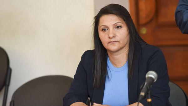 Назик Амирян на судебном заседании (4 июня 2019). Еревaн - Sputnik Армения