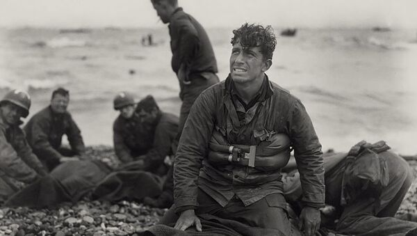 Американские солдаты в День Д (6 июня 1944). Нормандия - Sputnik Армения