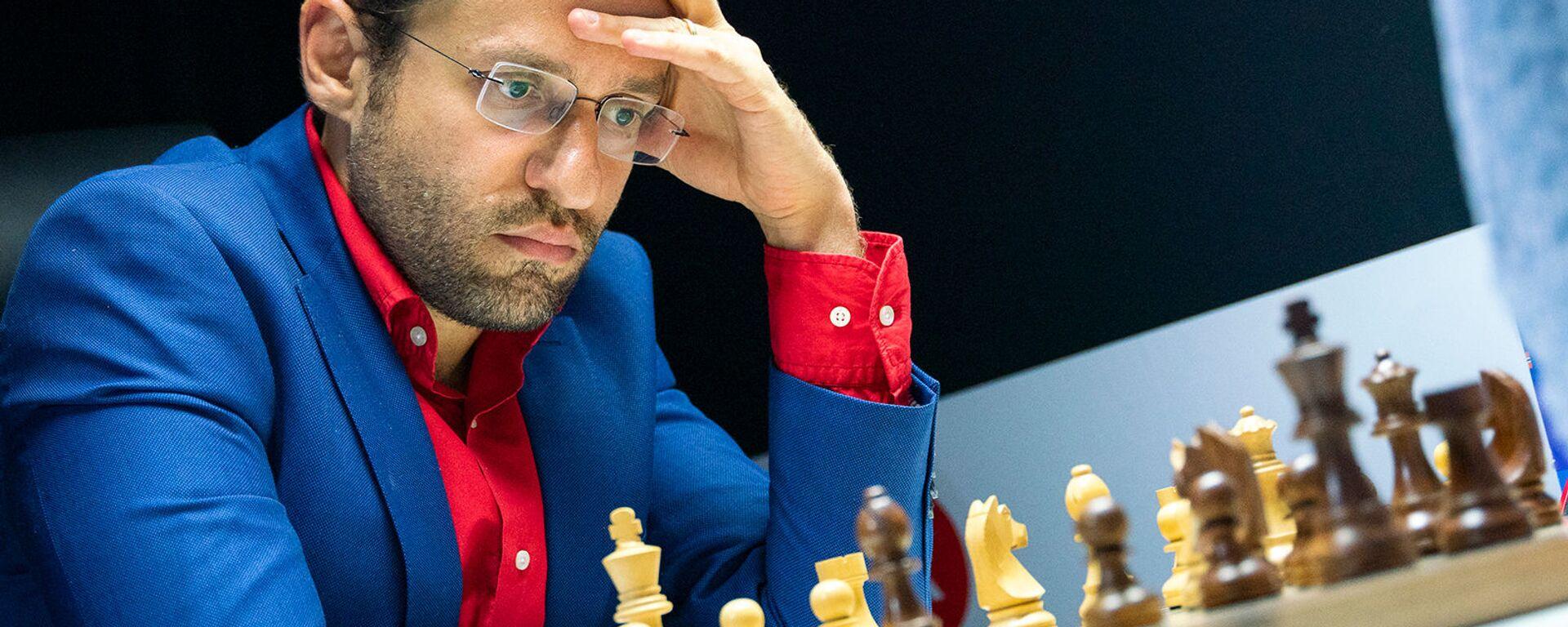 Гроссмейстер Левон Аронян во время блиц-турнира Altibox Norway Chess 2019 (3 июня 2019). Ставангер, Норвегия - Sputnik Армения, 1920, 27.09.2021