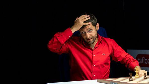 Гроссмейстер Левон Аронян во время блиц-турнира Altibox Norway Chess 2019 (3 июня 2019). Ставангер, Норвегия - Sputnik Արմենիա