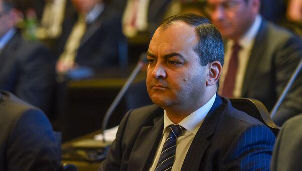 Главный прокурор Артур Давтян на заседании правительства Армении (6 июня 2019). Еревaн - Sputnik Արմենիա