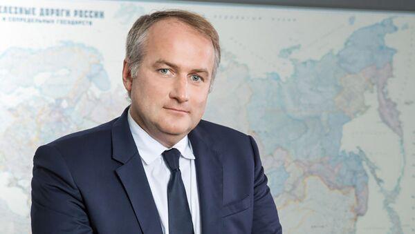Президент, председатель правления АО «Объединенная транспортно-логистическая компания – Евразийский железнодорожный альянс» Алексей Гром - Sputnik Армения