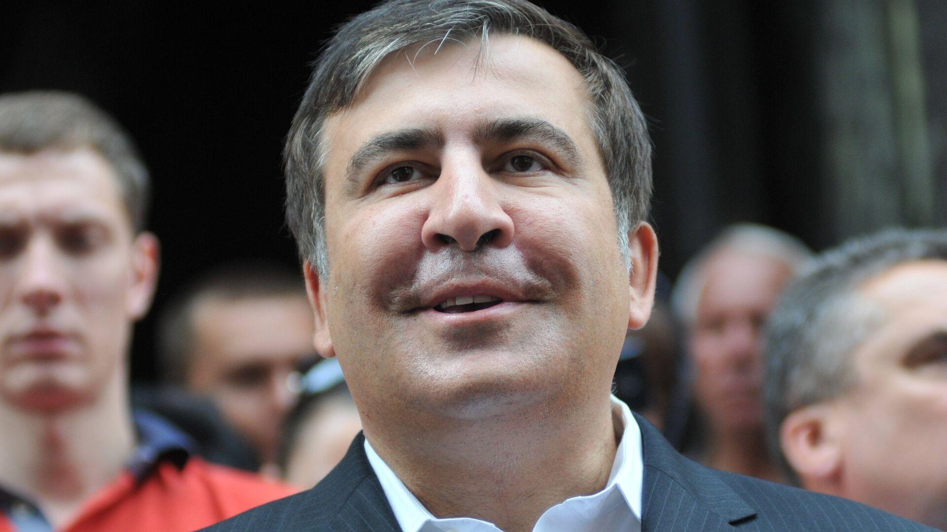 Экс-президент Грузии М.Саакашвили посетил Львов - Sputnik Армения, 1920, 17.09.2021
