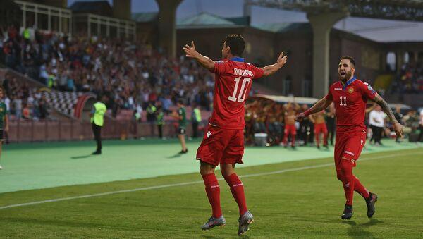 Футбольный матч отборочного тура Евро-2020 между сборными Армении и Лихтенштейна (8 июня 2019). Еревaн - Sputnik Армения
