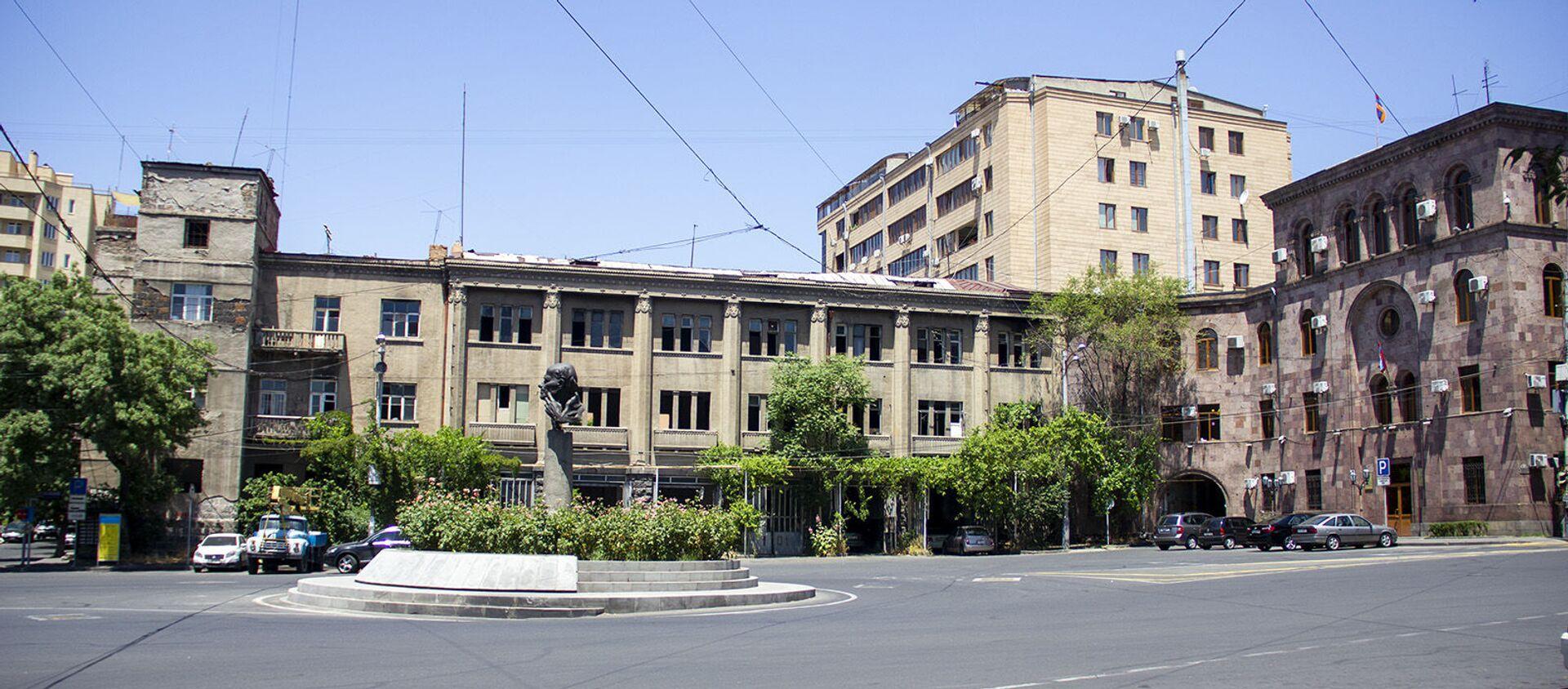 Площадь Сахарова в Ереване - Sputnik Արմենիա, 1920, 21.05.2021