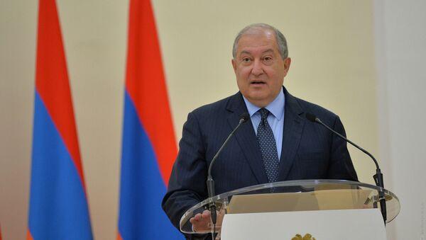Вручение премии Президента Республики Армения - Sputnik Արմենիա