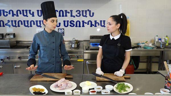 В гостях у шеф-повара: как приготовить Арцахское агани - Sputnik Армения