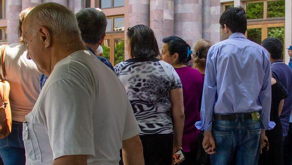 Акция протеста перед Домом правительства (12 июня 2019). Еревaн - Sputnik Արմենիա