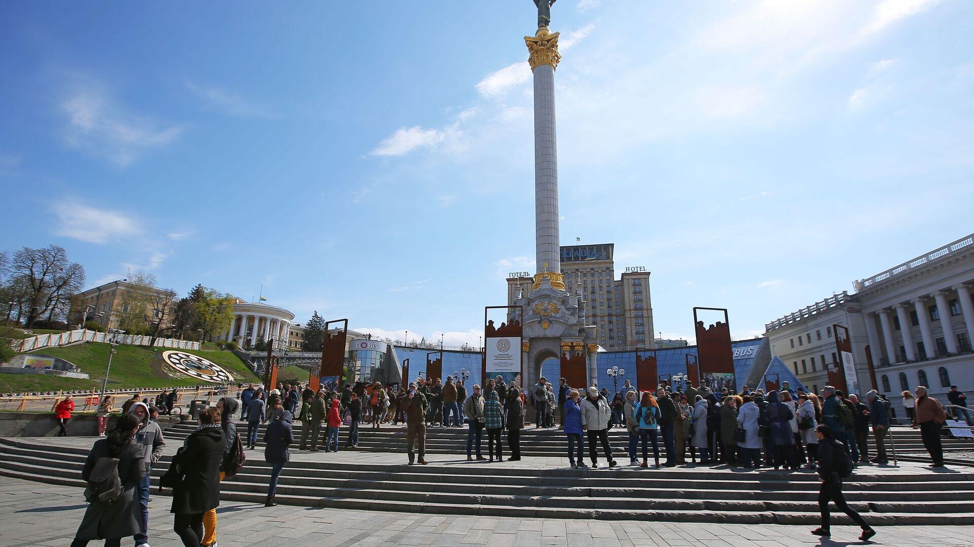 Акция в поддержку Порошенко в Киеве - Sputnik Արմենիա, 1920, 19.08.2021
