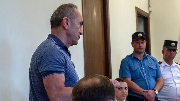 Выступление Роберта Кочаряна во время судебного заседания по делу 1 марта (14 июня 2019). Еревaн - Sputnik Армения