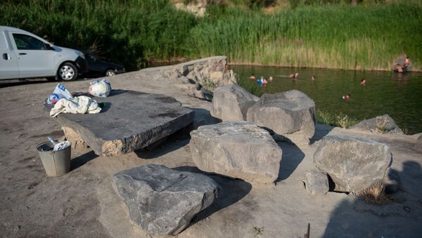 Мертвое озеро в Ереване - Sputnik Արմենիա