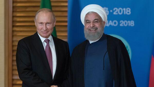 Президент РФ В. Путин на саммите ШОС в Китае - Sputnik Армения