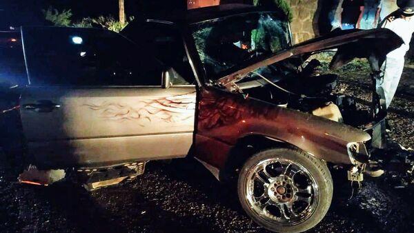 Дорожно-транспортное происшествие в Лори  - Sputnik Արմենիա