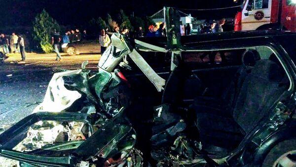 Дорожно-транспортное происшествие в Лори  - Sputnik Армения