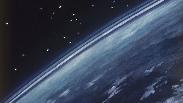 Репродукция картины А.Леонова А земля круглая! - Sputnik Армения