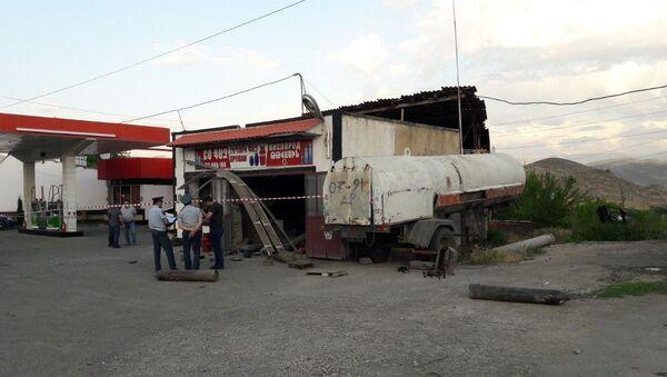 Взрыв на авто газонаполнительной компрессорной станции (18 июня 2019). Ехегнадзор - Sputnik Армения