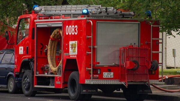 Автомобиль пожарной службы Армении - Sputnik Армения