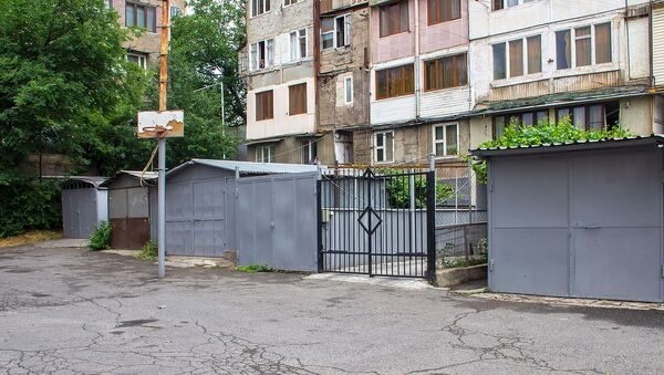 Неисправная канализация в Нор Норке - Sputnik Армения
