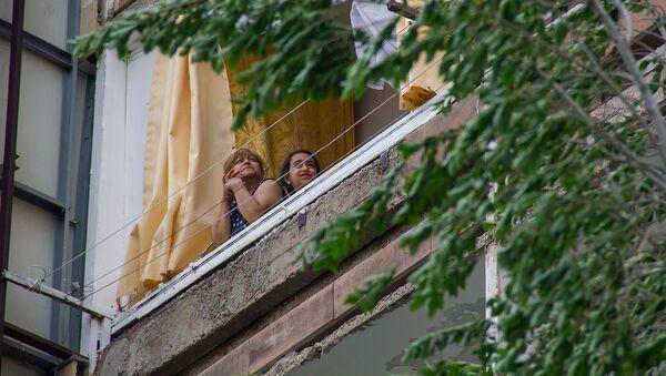 Жители норкского общежития - Sputnik Армения