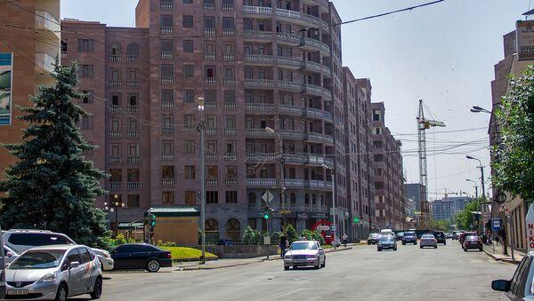 Новостройка в микрорайоне Ераз, Ереван - Sputnik Армения