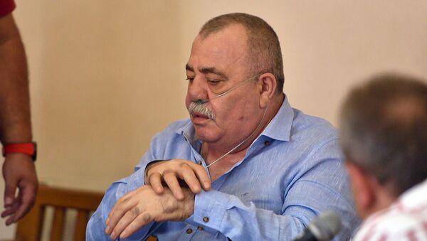 Манвел Григорян на судебном заседании по своему делу (25 июня 2019). Еревaн - Sputnik Армения