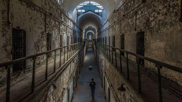 Коридор тюрьмы с камерами - Sputnik Արմենիա